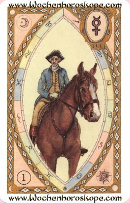 Der Reiter, Wochenhoroskop