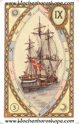 Das Schiff, Wochenhoroskop