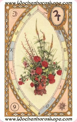 Die Blumen, Wochenhoroskop