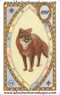 Der Fuchs, Wochenhoroskop