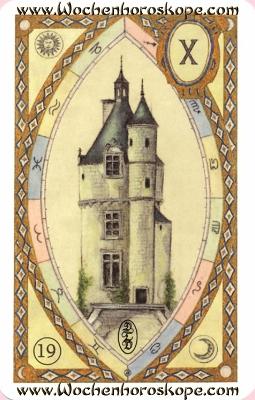 Der Turm, Wochenhoroskop