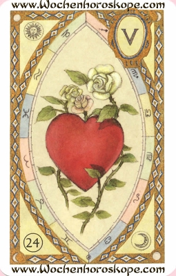 Das Herz, Wochenhoroskop
