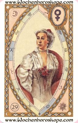 Die Dame, Wochenhoroskop