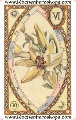 Die Lilien, Wochenhoroskop