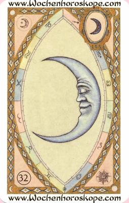 Der Mond, Wochenhoroskop