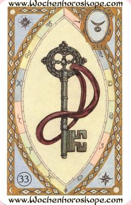 Der Schlüssel, Wochenhoroskop