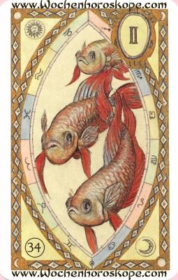 Die Fische, Wochenhoroskop