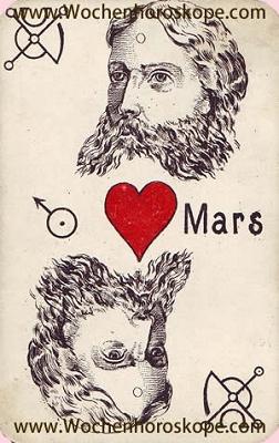 Der Mars, Wochenhoroskop Arbeit und Finanzen