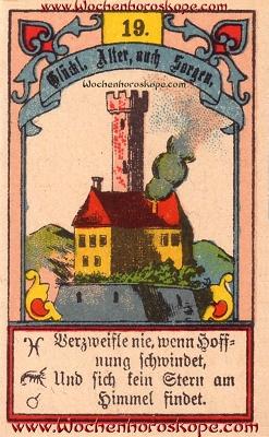 Der Turm im Wochenhoroskop für diesen Tag