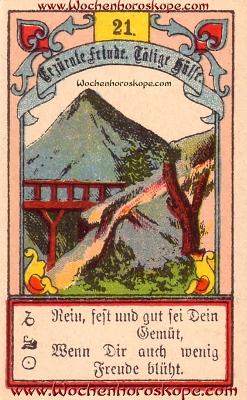 Der Berg im Wochenhoroskop für diesen Tag