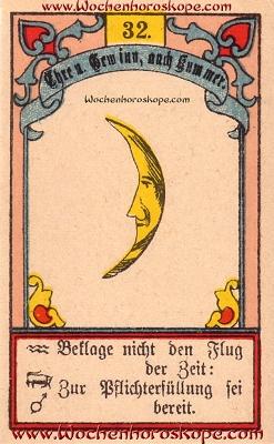 Der Mond im Wochenhoroskop für diesen Tag